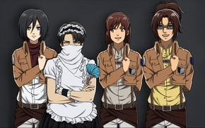 Picture soldiers, Attack On Titan, Shingeki No Kyojin, Attack of the titans, Levi, corporal