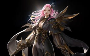 Picture anime, fantasy, art, TaeKwon Kim(A-rang), Gunner