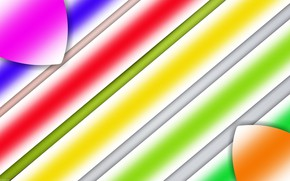 Picture strip, gradient, figure