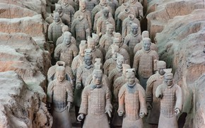 Picture China, Terracotta Army, Bamianyao, Shaanxi