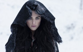 Picture look, hood, the series, hair, look, Morgana, hood, Merlin, Morgan, TV series, Merlin, Katie McGrath, …