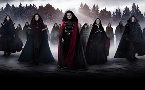 Picture winter, forest, vampires, cloaks, The Twilight Saga Dawn, The Twilight Saga Breaking Dawn - Part …