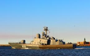 Picture large, boat, rocket, Baltika, R-257