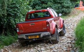 Picture stones, pickup, Isuzu, 2016, Arctic Trucks, D-Max, UK version, AT35