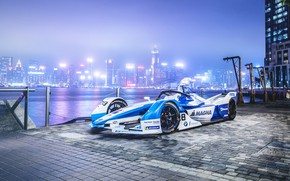 Picture 2018, Formula E, Electric Race Car, BMW iFE.18