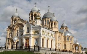 Picture Church, temple, Russia, St. Nicholas Monastery