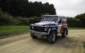 Picture speed, Land Rover, Defender, 2013, 2014, Challenge, Bowler