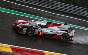 Picture Toyota, track, WEC, 2019, TS050 Hybrid