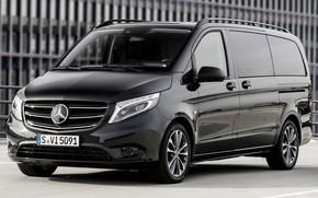 Picture auto, black, Machine, Mercedes, wheel, Mercedes, Mercedes Benz, Vito, Minibus