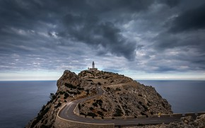 Picture Mallorca, Cap Formentor, End of the road