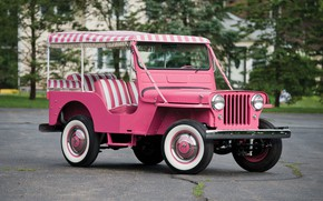 Picture 1960, jeep, gala, surrey, willys