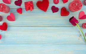 Picture gift, chocolate, roses, candy, hearts, red, red, love, wood, flowers, romantic, hearts, chocolate, valentine's day, …
