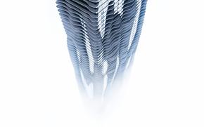 Picture Fog, Tower, The city, Chicago, The building, City, Sky, Il, Architecture, Chicago, Illinois, Skyscraper, Building, …