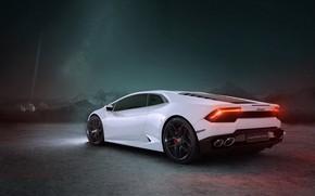 Picture rendering, Lamborghini, supercar, CGI, Huracan