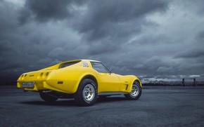 Picture Auto, Corvette, Chevrolet, Machine, Chevrolet Corvette, Chevrolet Corvette C3, Transport & Vehicles, by Rodion Yushmanov, …