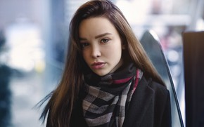 Picture look, hair, Girl, coat, Sofia, Oleg Pavlinski