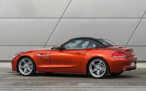 Picture roof, wall, BMW, Roadster, side, 2013, E89, BMW Z4, Z4, sDrive35is