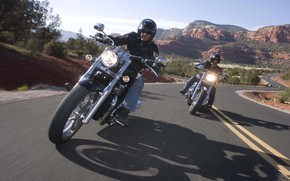 Picture Autobahn, Motorcycles, Wheel, Моторы