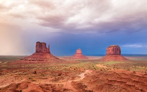 Picture AZ, USA, Valley monuments, Dolina monuments