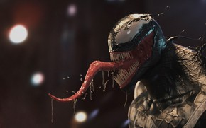 Picture language, saliva, Venom, Venom, symbiote