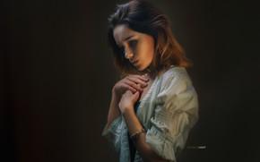 Picture look, pose, model, Girl, Alexander Drobkov-Light, Maria Larina