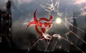 Picture Glass, Apocalypse, Biological contamination, City