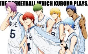 Picture sport, anime, art, team, guys, Kuroko's Basketball, Kuroko from the Baske