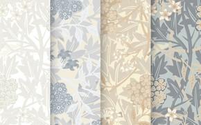 Picture flowers, background, texture, Flower, Design, Vintage, Background, Pattern, Floral