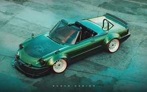 Picture Auto, Green, Machine, Alfa Romeo, Car, Render, Rendering, Green, Transport & Vehicles, by Sugar Chow, …
