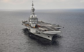 Picture France, the carrier, Charles De Gaulle