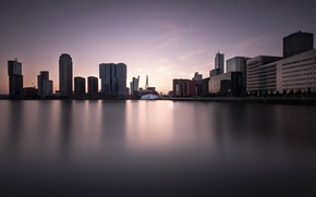 Picture night, the city, Rotterdam