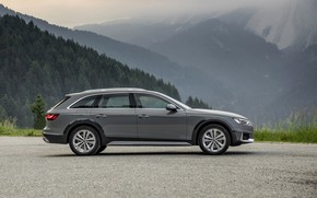 Picture Audi, side view, universal, 2019, A4 Allroad Quattro