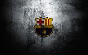 Picture wall, logo, wall, logo, Barcelona, barcelona