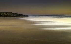 Picture beach, England, Cornwall, Bude, Sandymouth Bay Beach