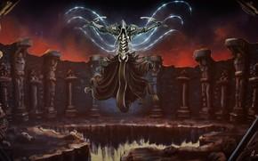 Picture Diablo 3, Diablo, Death, Angel, Angel of Death, Malthael, Archangel of Wisdom, Aspect of Death, …