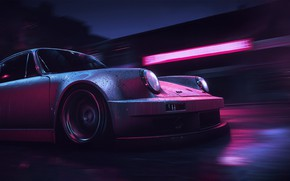 Picture Auto, The game, Porsche, Machine, NFS, Need for Speed, Mikhail Sharov, Porsche 911 Carrera RSR, ...