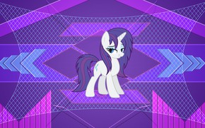 Picture purple, background, pattern, cartoon, pony, My Little Pony