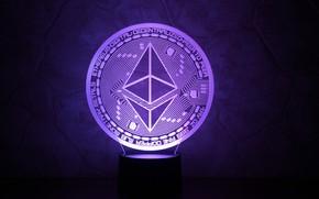 Picture lamp, fon, purpure, the air, eth, ethereum