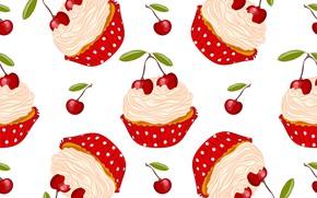 Picture cherry, texture, Kosa