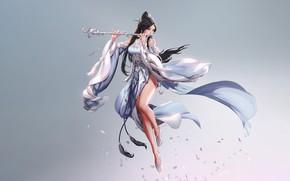 Picture Minimalism, Style, Asian, Girl, Dress, Art, Art, Music, Asian, Style, Minimalism, Dress, Seunghee Lee, Moonlight …