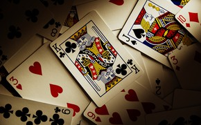 Picture card, deck, king
