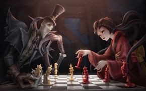 Picture The game, Chess, China, Figure, Figures, Art, Board, Fiction, Ghosts, TUTU, Party, by TUTU