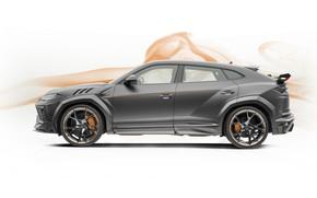 Picture Lamborghini, side view, crossover, Mansory, Urus, 2019, Game
