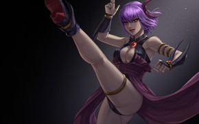 Picture chest, art, costume, blow, leg, ass, dead or alive, ayane