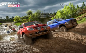 Wallpaper Forza Horizon 4, Microsoft, Offroad, the roads, E3 2018