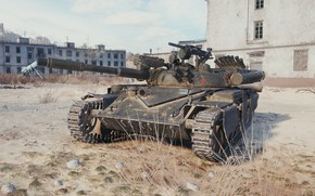 Picture USSR, World of Tanks, Light tank, T-100 LT