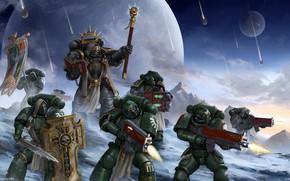Picture gun, armor, warhammer 40, ultramarines, warhammer 40K, warhammer 40 000, warhammer 40,000, warp