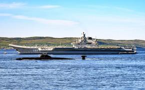 Picture ships, Admiral Kuznetsov, Obninsk