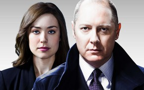Picture the series, James Spader, Blacklist, Elizabeth Keen, Megan Boone, Raymond Reddington