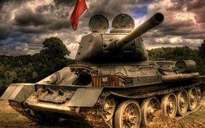Picture war, victory, tank